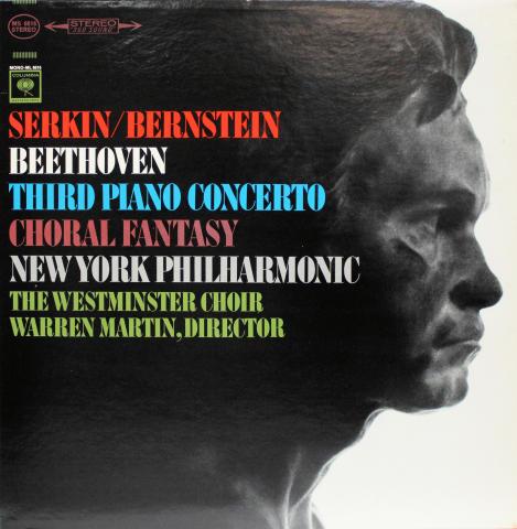"""Third Piano Concerto / Choral Fantasy Vinyl 12"""""""