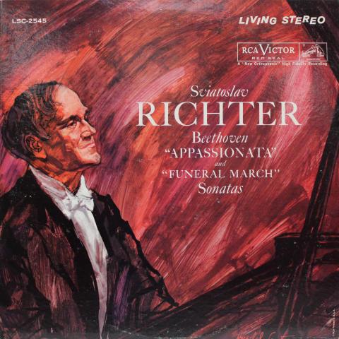 "Beethoven Appassionata And Funeral March Sonatas Vinyl 12"""