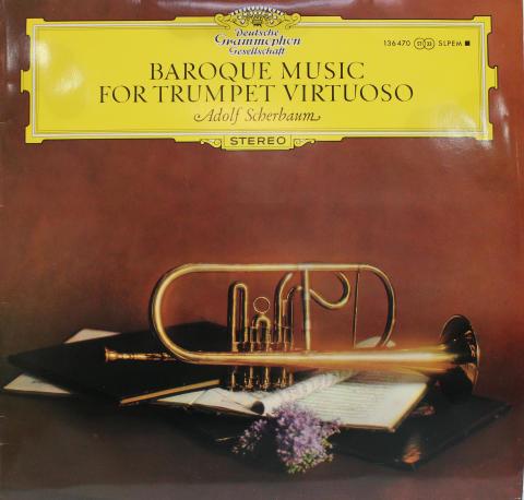 """Baroque Music for Trumpet Virtuoso Vinyl 12"""""""
