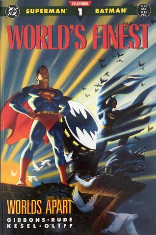 DC Comics: World's Finest - Worlds Apart