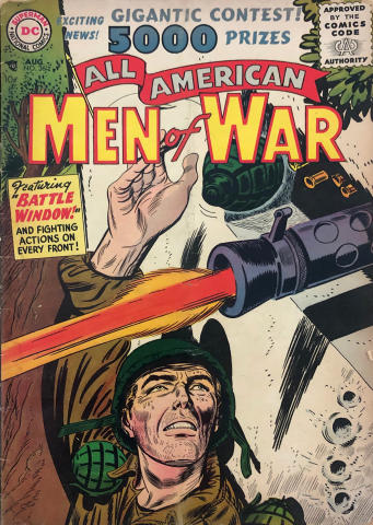 DC Comics: All American Men of War #36