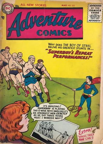 DC Comics: Adventure Comics #222