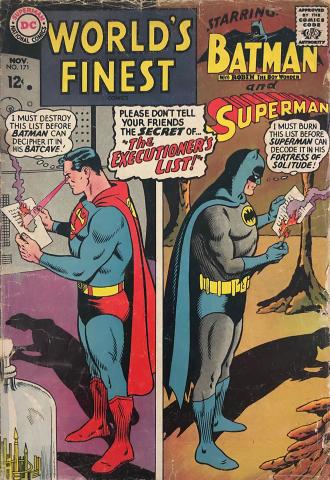 DC Comics: World's Finest #171