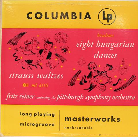 "Eight Hungarian Dances / Waltzes Vinyl 12"""