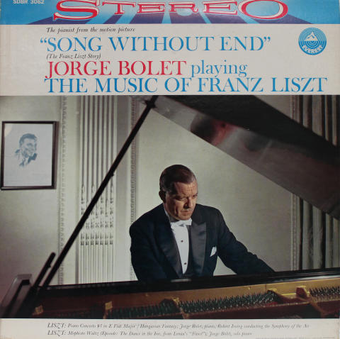 "Song Without End - Original Soundtrack Recording Vinyl 12"""