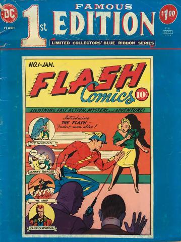 DC Comics: First Famous Edition Flash Comics
