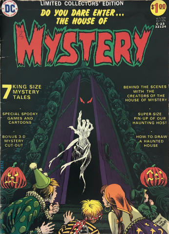 DC Comics: The House of Mystery C-23 - Limited Collectors' Edition
