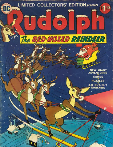 DC Comics: Rudolph The Red Nosed Reindeer - Limited Collectors' Edition