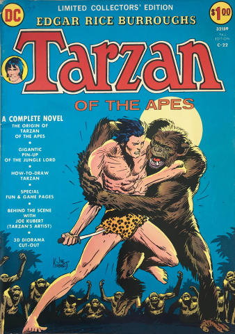 DC Comics: Tarzan of the Apes C-22 - Limited Collectors' Edition