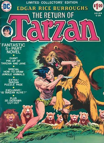 DC Comics: The Return of Tarzan C-29 - Limited Collectors' Edition