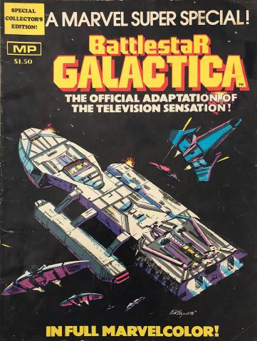 Marvel Comics: Battlestar Galactica - A Marvel Super Special