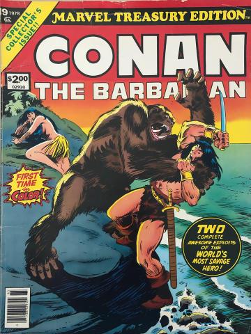 Marvel Comics: Conan The Barbarian Vol. 1 No. 19 - Marvel Treasury Edition