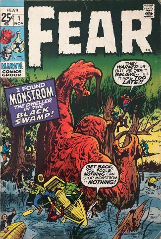 Marvel Comics: Fear #1