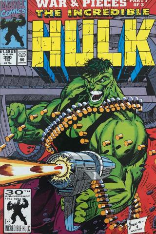 Marvel Comics: The Incredible Hulk #390