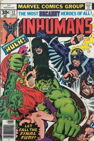 Marvel Comics: The Inhumans #12