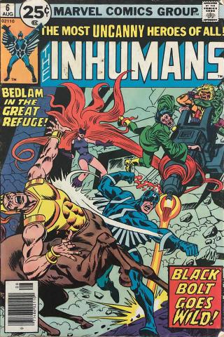 Marvel Comics: The Inhumans #6