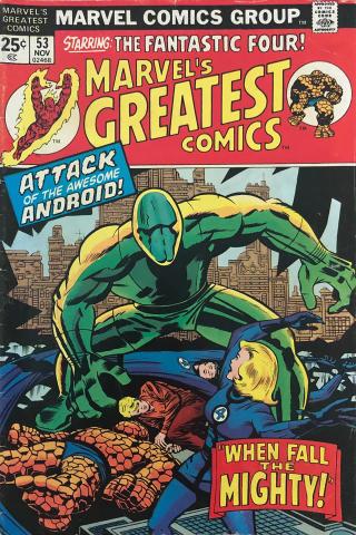 Marvel Comics: Marvel's Greatest Comics #53