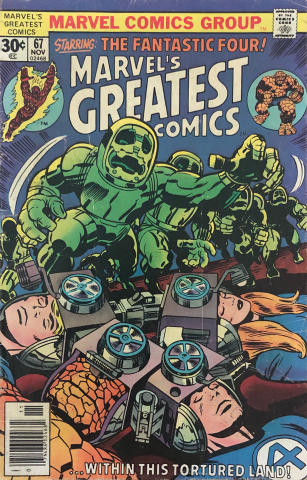 Marvel Comics: Marvel's Greatest Comics #67