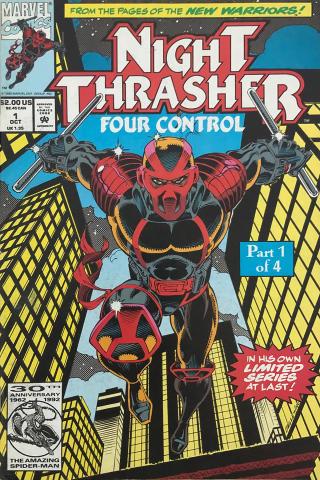 Marvel Comics: Night Thrasher #1