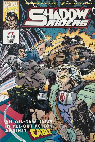 Marvel Comics: Shadow Riders #1