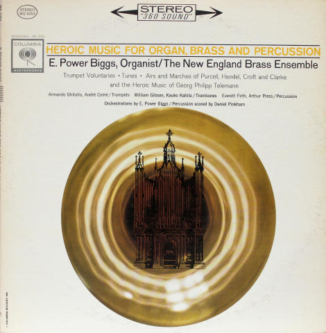 """Heroic Music For Organ, Brass And Percussion Vinyl 12"""""""