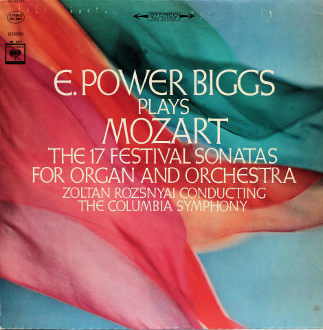 """The 17 Festival Sonatas For Organ And Orchestra Vinyl 12"""""""