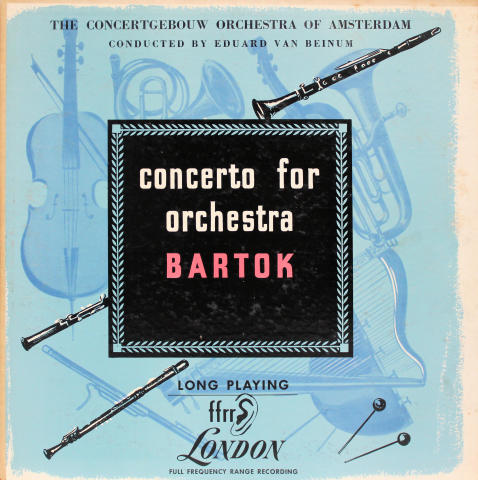 "Concerto For Orchestra Vinyl 12"""