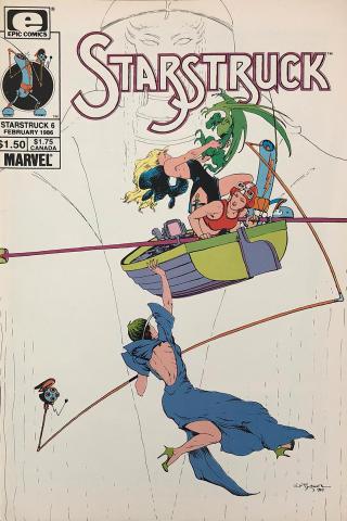 Epic Comics: Starstruck #6