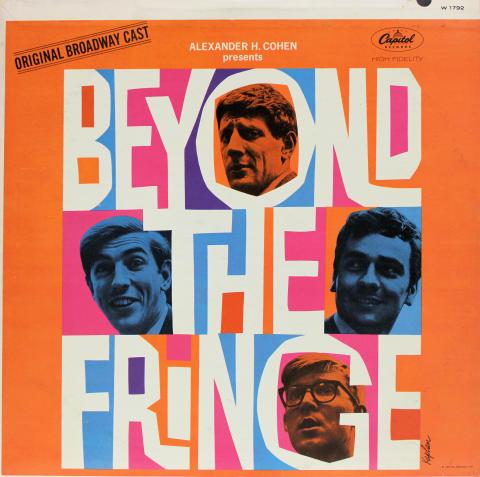 "Beyond The Fringe Vinyl 12"""