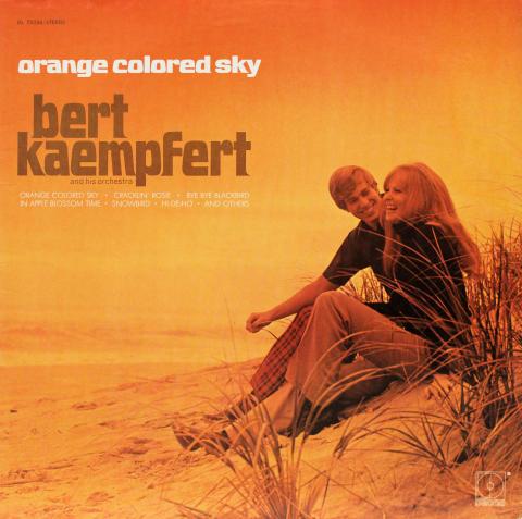"Orange Colored Sky Vinyl 12"""