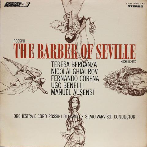 """The Barber Of Seville Vinyl 12"""""""