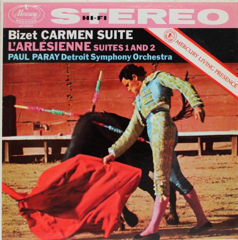 """Bizet Carmen Suite: L'Arlésienne Suites 1 & 2 Vinyl 12"""""""