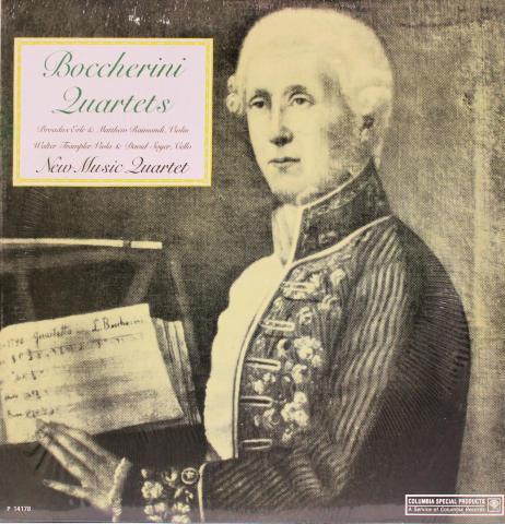 "Boccherini Quartets Vinyl 12"""