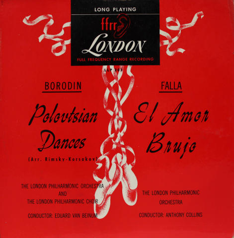 "Polovstsian Dances And El Amor Brujo Vinyl 12"""