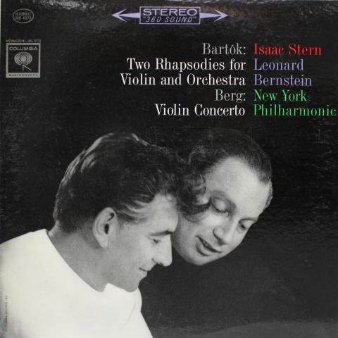 "Two Rhapsodies For Violin And Orchestra / Violin Concerto Vinyl 12"""