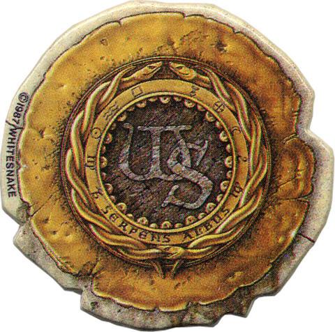 Whitesnake Pin