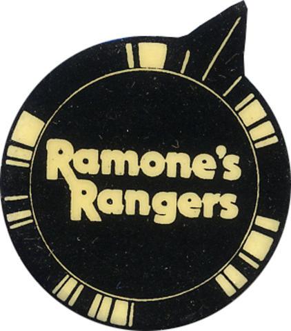 Ramones Rangers Pin