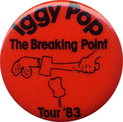 Iggy Pop Pin