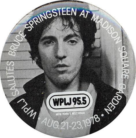 Bruce Springsteen Pin