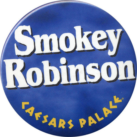 Smokey Robinson Pin