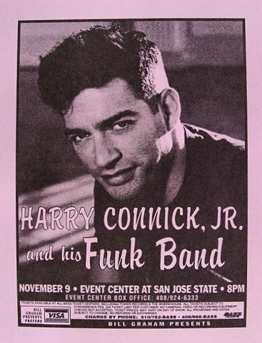 Harry Connick Jr. Handbill