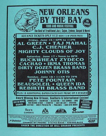 Al Green Handbill