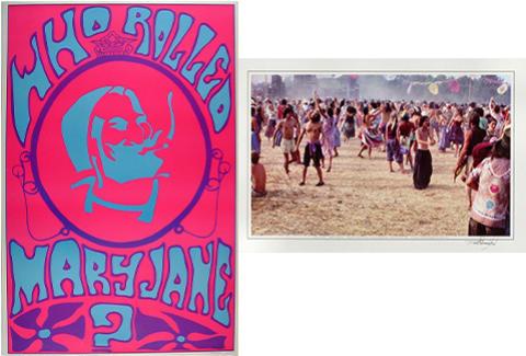 Grateful Dead Crowd/Mary Jane Poster Set
