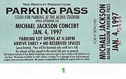 Michael Jackson Backstage Pass