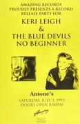 Keri Leigh and The Blue Devils Poster