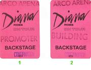 Diana Ross Backstage Pass
