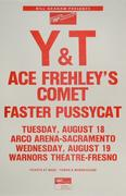 Y&T Poster