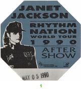 Janet Jackson Backstage Pass