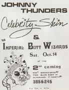 Johnny Thunders Handbill