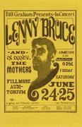 Lenny Bruce Handbill